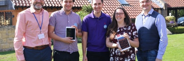 Eden donates iPads to Martin House Image